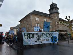 Fridays for Future: Demonstration in Witzenhausen