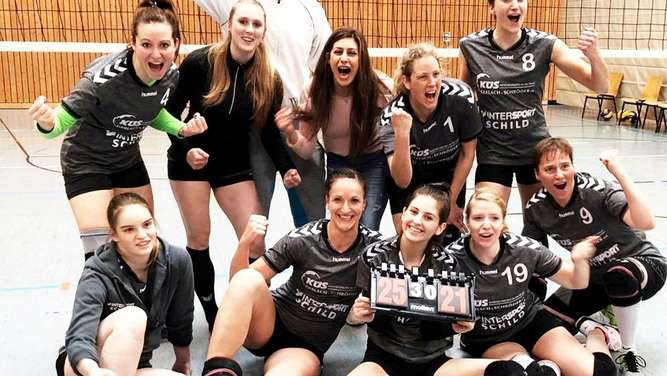 Volleyball: TG Rotenburg bleibt in der Bezirksoberliga