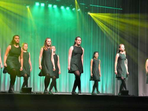 "Tanz-Show ""Irish Dance meets Rock and Pop"" in Rotenburg"