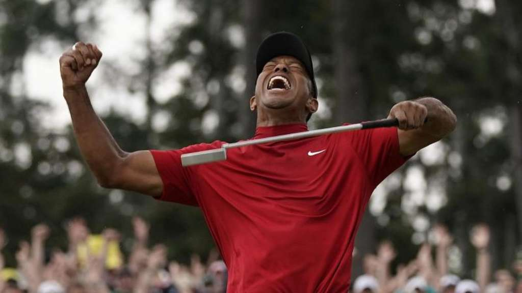 Packendes Finish in Augusta: Superstar Tiger Woods feiert Comeback-Triumph