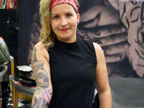 Erste Tattoo Convention in Hann. Münden