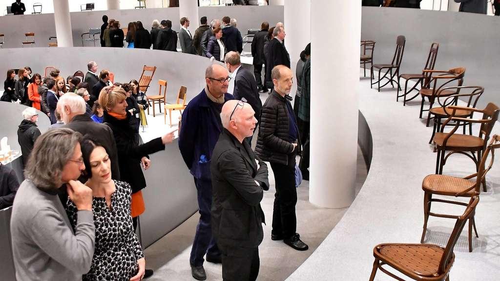 Eröffnete StuhlPinakothek Thonet In München Jahre 200 oxdBQrWCe