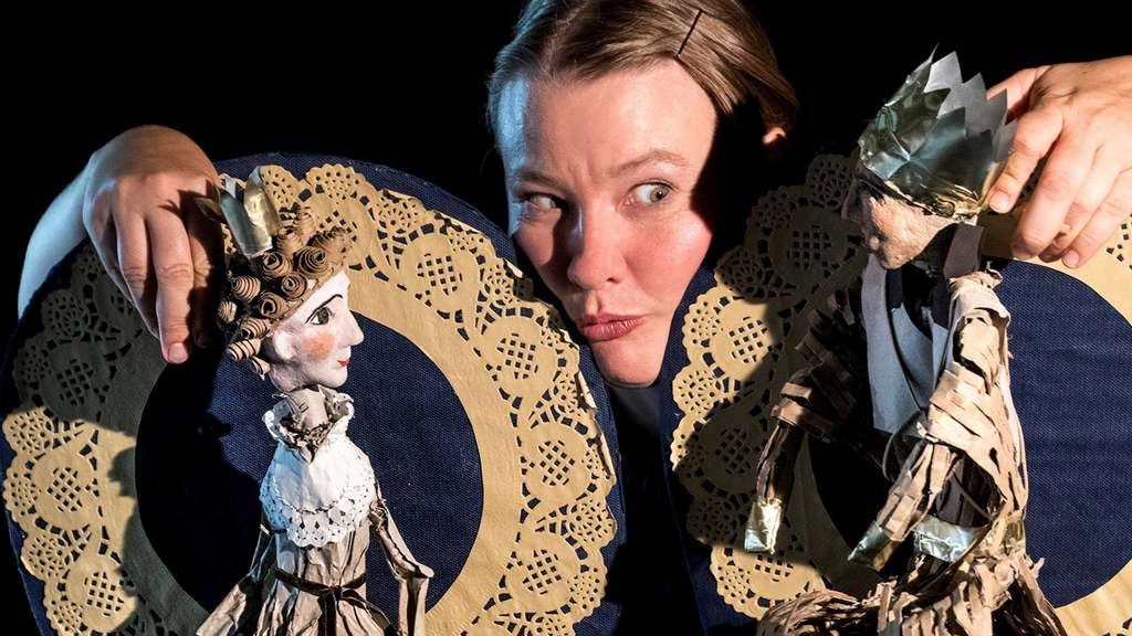 Puppentheater beim Internationalen Figurenfestival im Kloster Haydau