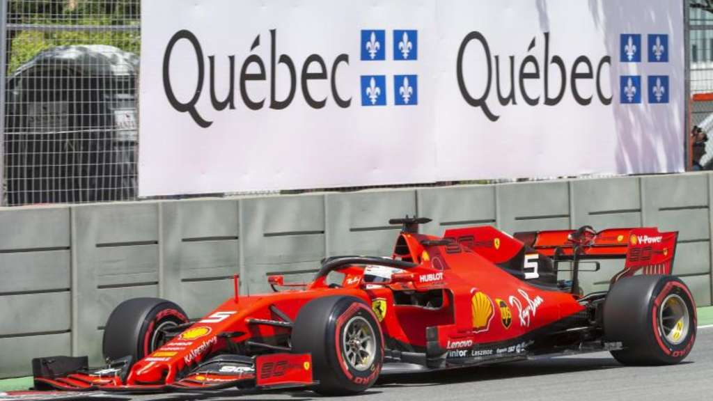 Sebastian Vettel holte sich die erste Pole Position der Saison. Foto: Ryan Remiorz/The Canadian Press/AP