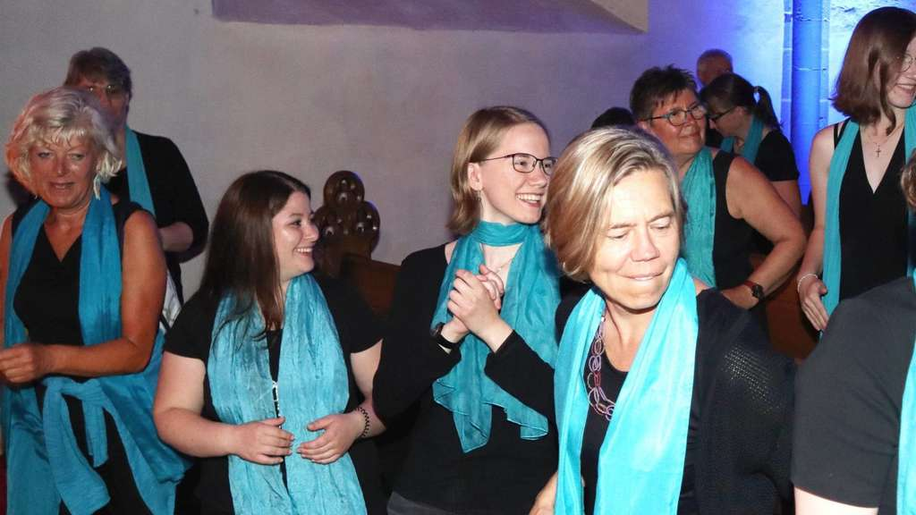 Midsummer Gospel Night: Gute Stimmung in Hofgeismar