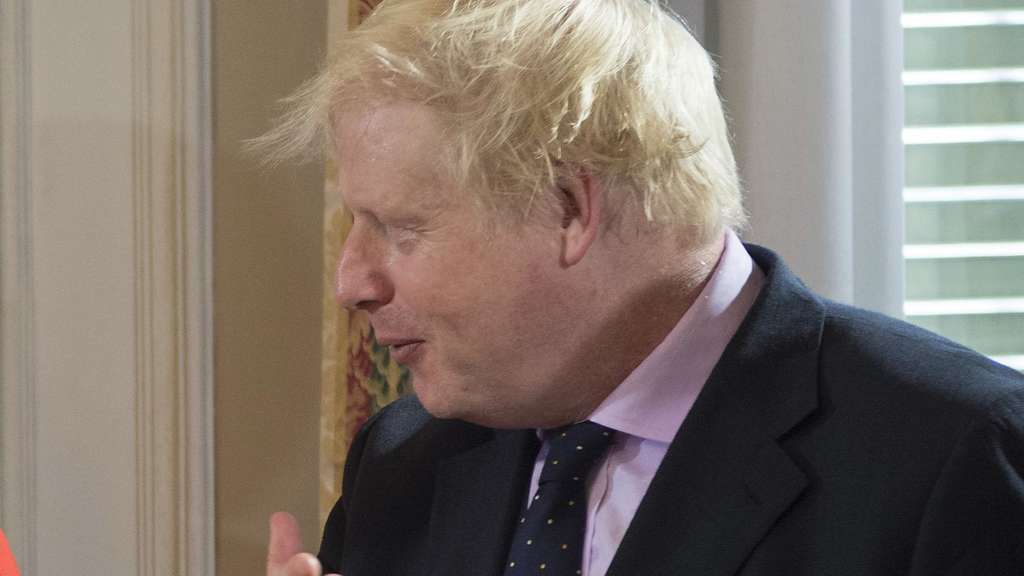 Angela Merkel und Boris Johnson.