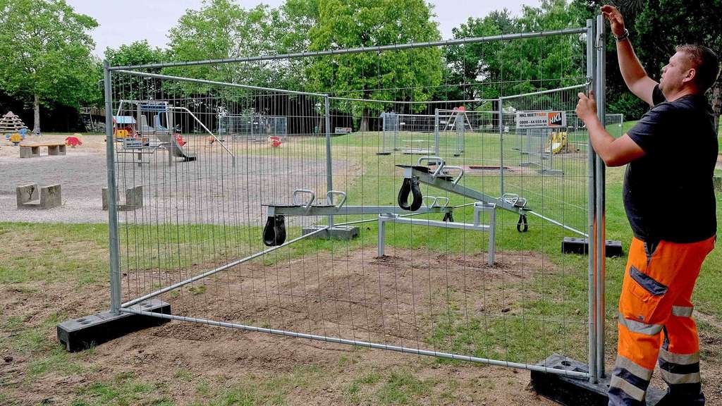 Vogts Teich in Northeim: Spielplatz in neuem Glanz