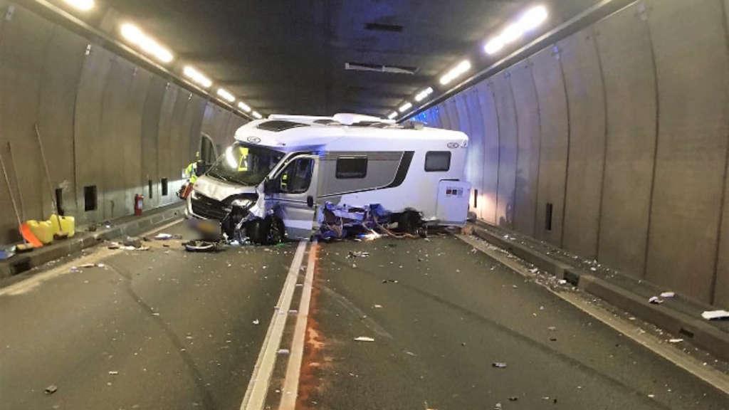 Gotthard Tunnel Unfall