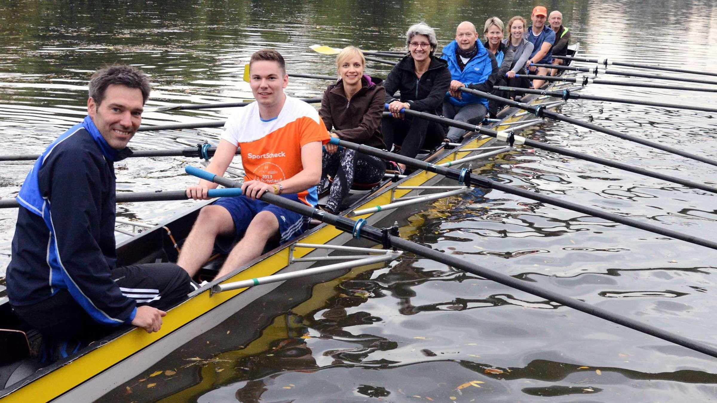 Rowing Crew Kapuzenpulli f/ür Ruderer und Wassersportler