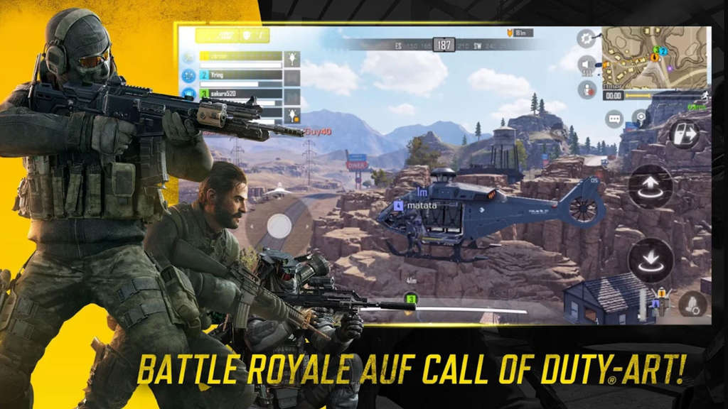 """Call of Duty Mobile"" Battle Royale Modus"