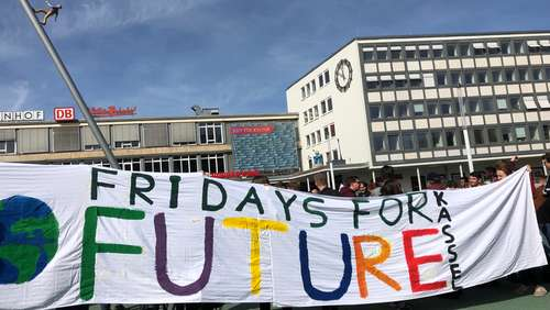 Fridays4Future am 20. September in Kassel
