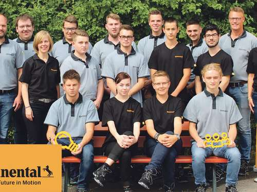 Ready, set, career! Ausbildungsstart bei Continental in Bebra