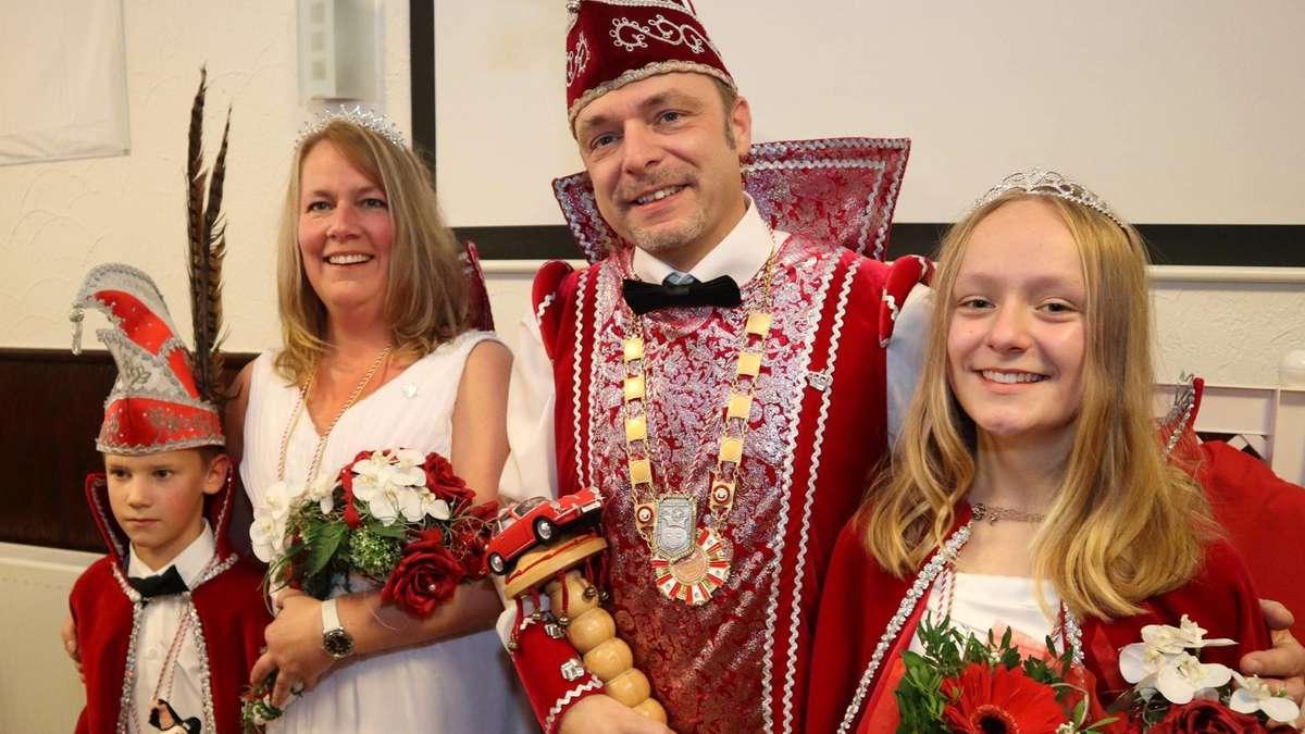 Fürstenhagen: Nicole und Thorsten sind das Prinzenpaar des Karnevals | Hessisch Lichtenau - hna.de
