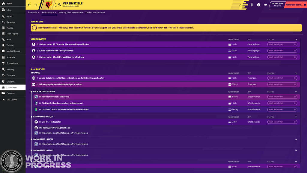 Football-Manager-2020-Vereinsziele
