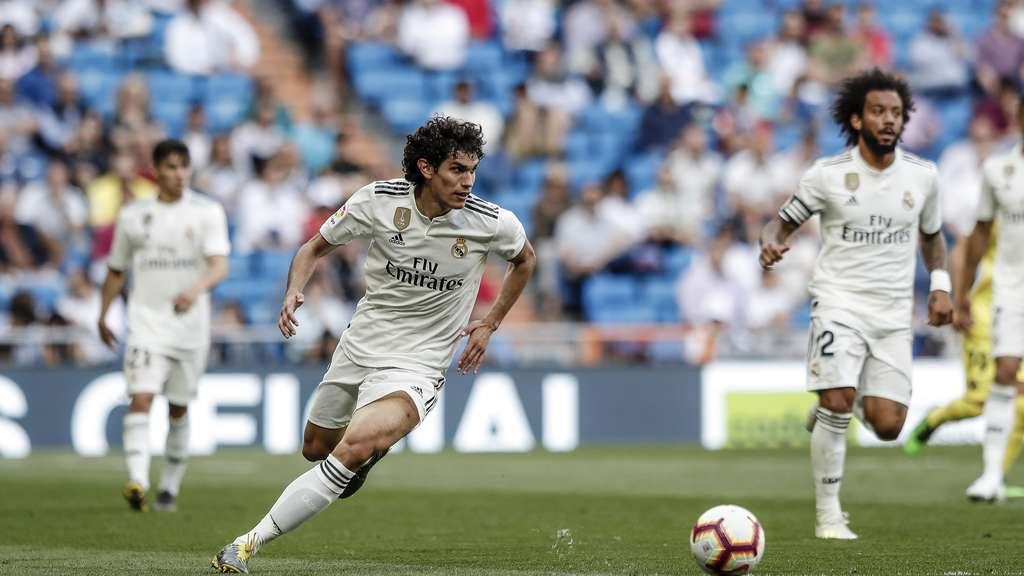Jesus Vallejo von Real Madrid.