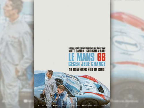 Ab 31.01.2020 im Burg-Theater in Treysa: Le Mans 66 – Gegen jede Chance