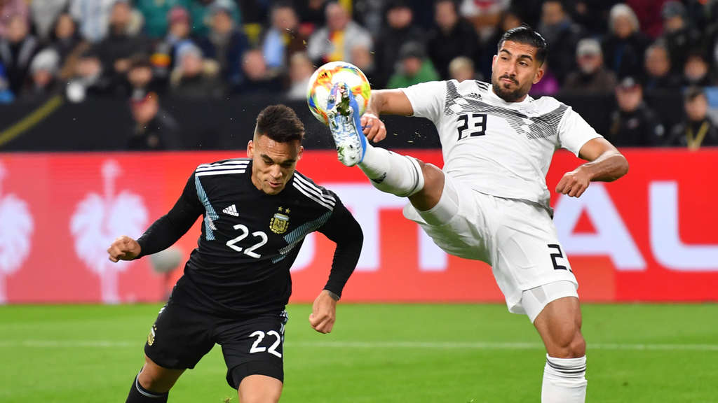 Deutscher Nationalspieler: Emre Can (re.).