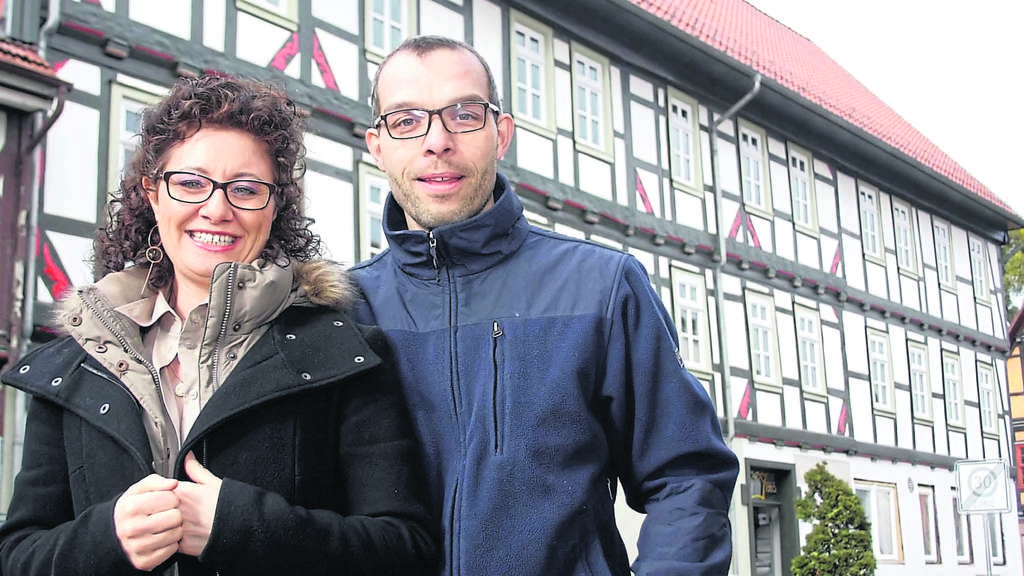 Altes Haus in neuem Glanz - die Krone in Wanfried