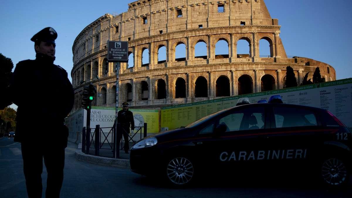 Lage Italien Corona