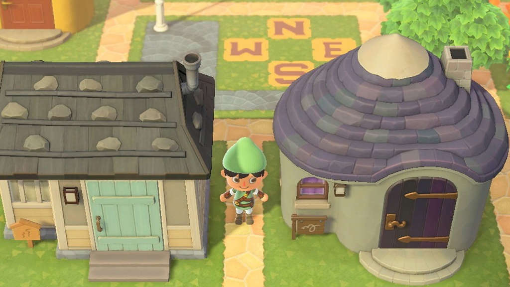 Hyrule von Zelda in Animal Crossing: New Horizons