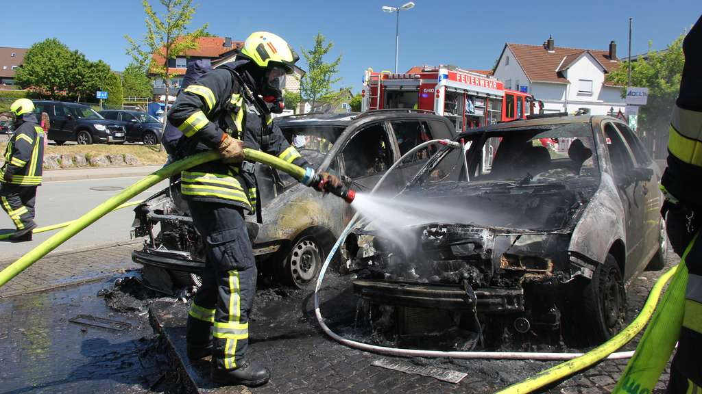 Korbach: Auto beim Start in Brand geraten