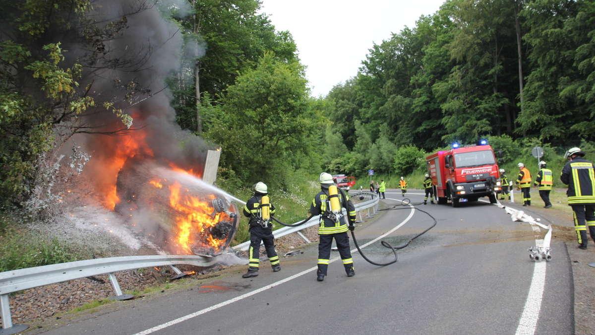 A7 Kassel Unfall