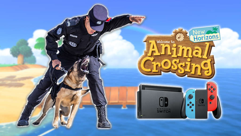 animal crossing new horizons nintendo switch polizei taipei taiwan ingame post
