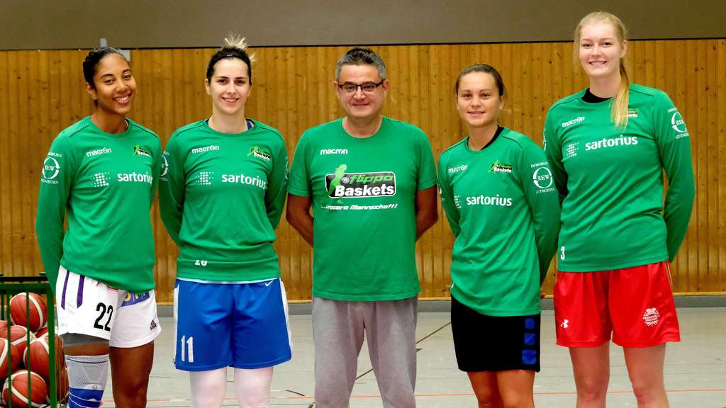 flippo Baskets BG 74 Göttingen: Trainingsstart mit neuem Import-Trio