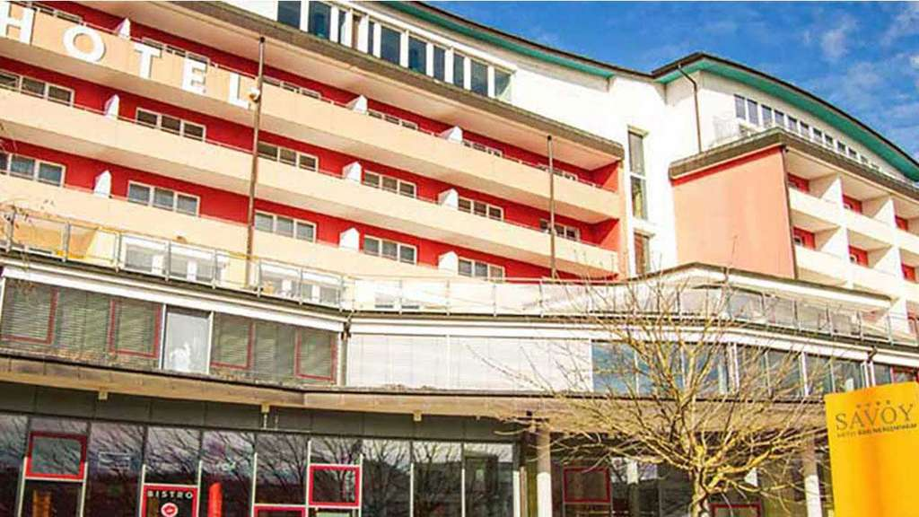 Savoy Hotelfassade in Bad Mergentheim
