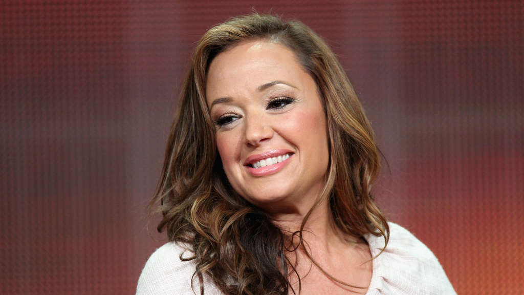 "Leah Remini bei einem Interview zum ""Family Tools"" Panel der Disney/ABC Television Group."