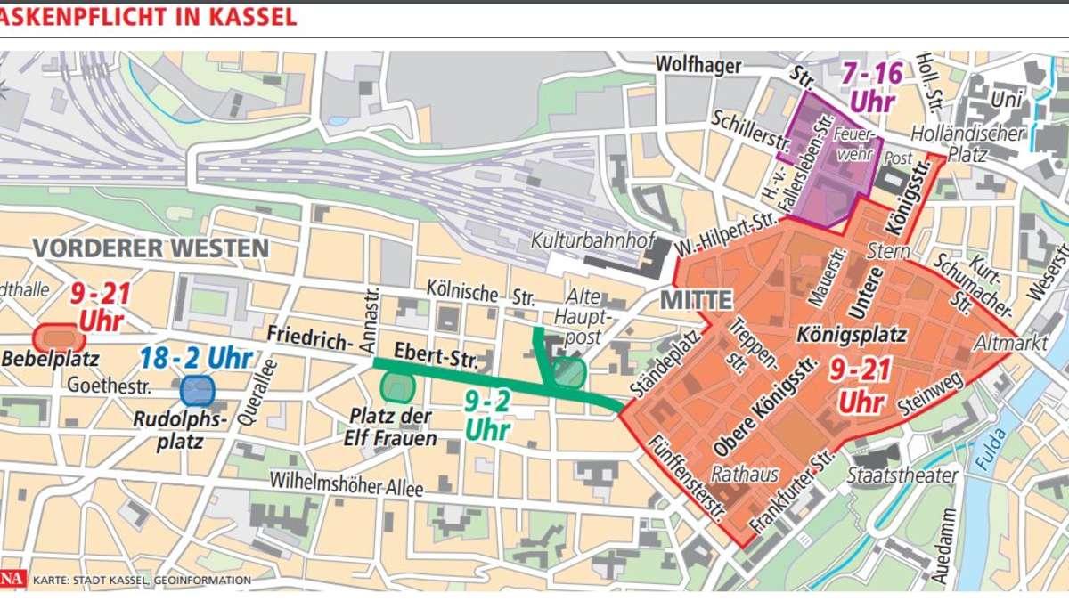 Diese Corona-Regeln gelten ab Montag in Stadt und Kreis Kassel