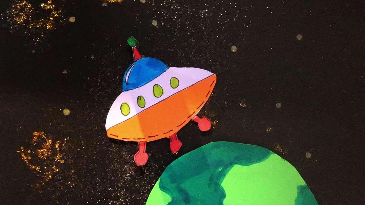 Einmal Weltraum und zurück: Jugendliche erstellen Trickfilm
