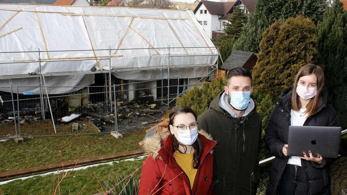 Nach Hausbrand: Allendorfer Familie dankt für Spenden