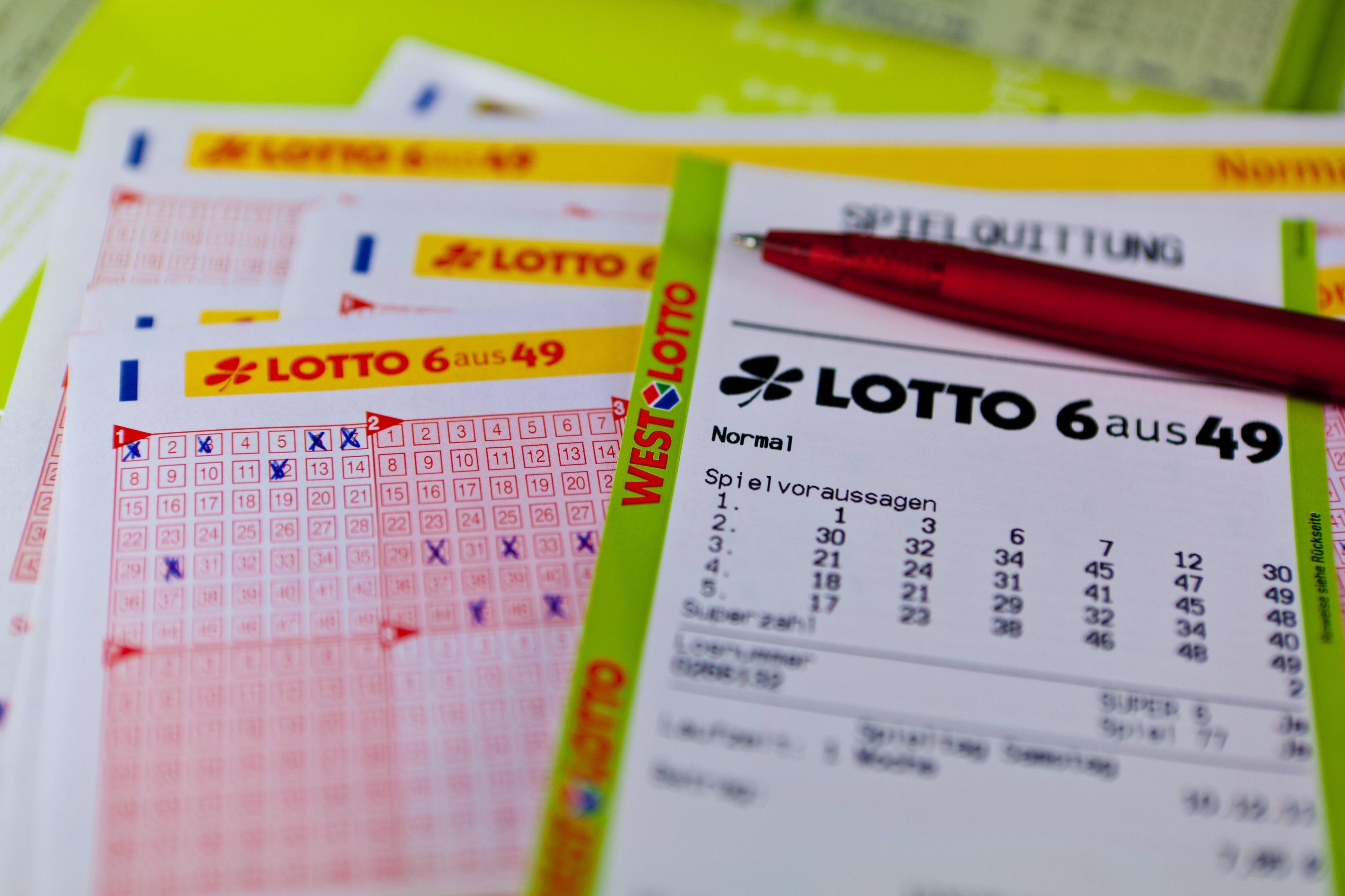Lotto-Ziehung am Mittwoch: Das sind die aktuellen Gewinnzahlen