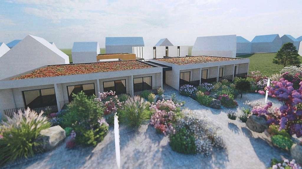 Mit Öffnung zum Garten: So sind die Wohneinheiten im Hospiz in Rotenburg geplant.